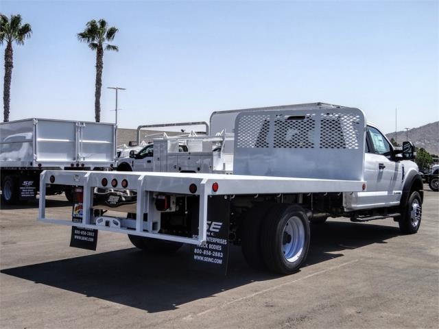 2020 Ford F-450 Super Cab DRW 4x2, Scelzi WFB Flatbed #FL3441 - photo 4