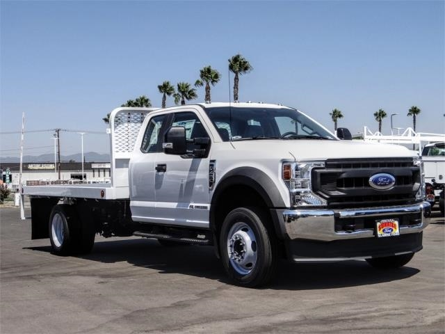 2020 Ford F-450 Super Cab DRW 4x2, Scelzi WFB Flatbed #FL3441 - photo 6