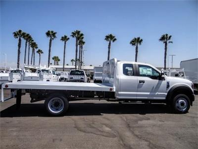 2020 Ford F-450 Super Cab DRW 4x2, Scelzi WFB Flatbed #FL3441 - photo 5
