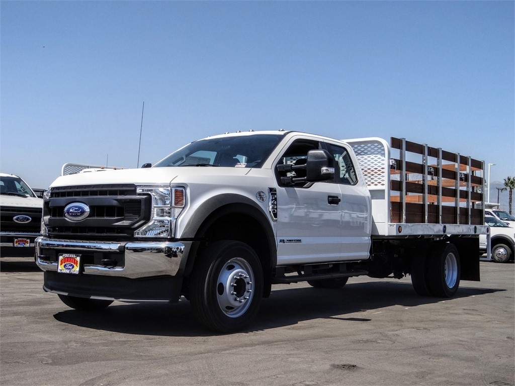 2020 Ford F-450 Super Cab DRW 4x2, Scelzi WFB Flatbed #FL3467 - photo 1