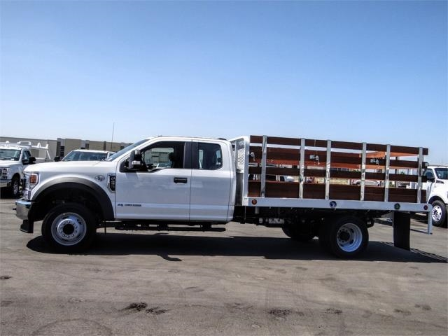2020 Ford F-450 Super Cab DRW 4x2, Scelzi WFB Flatbed #FL3467 - photo 3