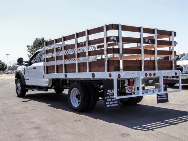 2020 Ford F-450 Super Cab DRW 4x2, Scelzi WFB Flatbed #FL3467 - photo 2