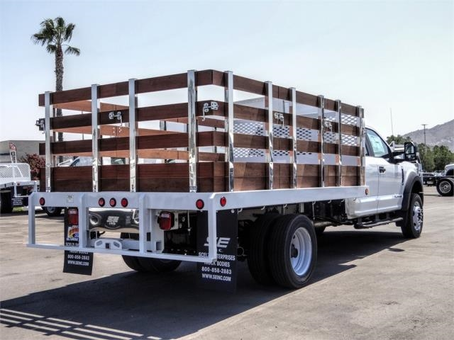 2020 Ford F-450 Super Cab DRW 4x2, Scelzi WFB Flatbed #FL3467 - photo 4