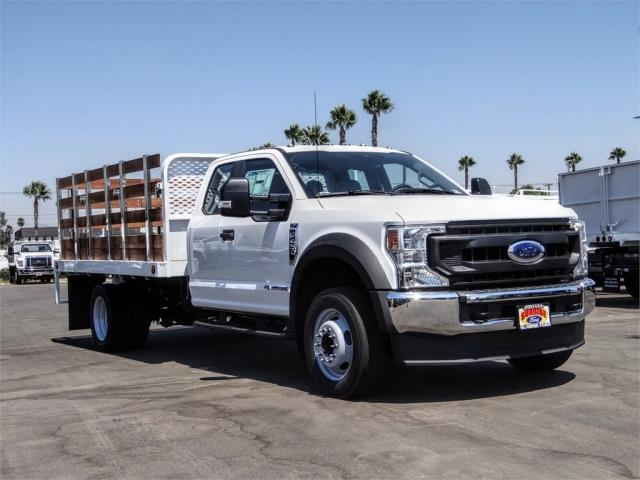 2020 Ford F-450 Super Cab DRW 4x2, Scelzi WFB Flatbed #FL3467 - photo 6