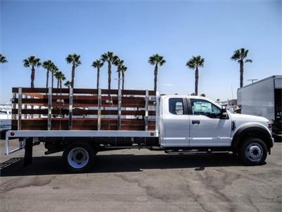 2020 Ford F-450 Super Cab DRW 4x2, Scelzi WFB Flatbed #FL3467 - photo 5