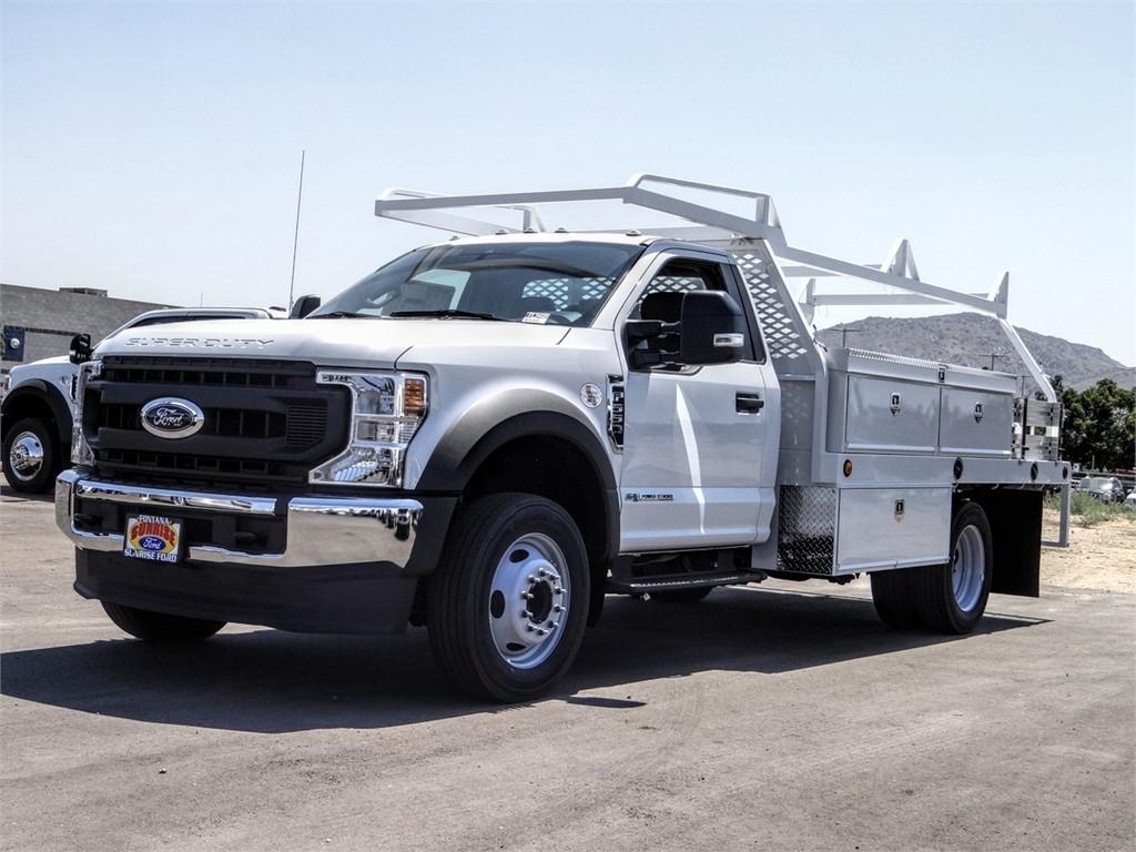 2020 Ford F-550 Regular Cab DRW 4x2, Scelzi CTFB Contractor Body #FL3468 - photo 1