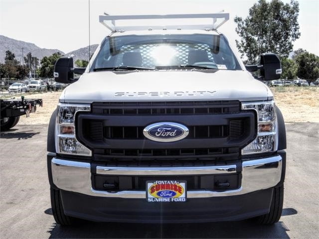 2020 Ford F-550 Regular Cab DRW 4x2, Scelzi CTFB Contractor Body #FL3468 - photo 7
