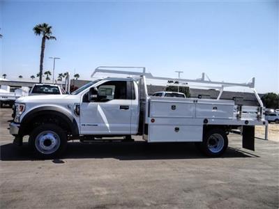 2020 Ford F-550 Regular Cab DRW 4x2, Scelzi CTFB Contractor Body #FL3468 - photo 3
