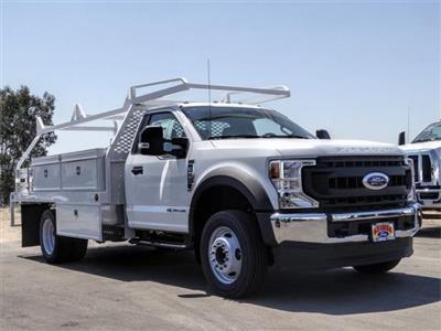 2020 Ford F-550 Regular Cab DRW 4x2, Scelzi CTFB Contractor Body #FL3468 - photo 6