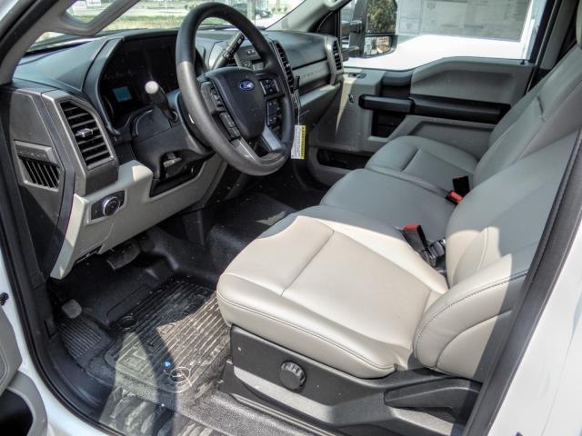 2020 Ford F-550 Regular Cab DRW 4x2, Scelzi WFB Stake Bed #FL3551 - photo 9