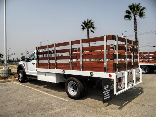2020 Ford F-550 Regular Cab DRW 4x2, Scelzi Stake Bed #FL3551 - photo 1