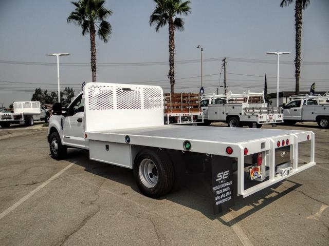 2020 Ford F-350 Regular Cab DRW 4x2, Scelzi WFB Flatbed #FL3589 - photo 2