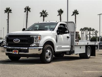 2020 Ford F-350 Regular Cab DRW 4x2, Scelzi WFB Flatbed #FL3589 - photo 1