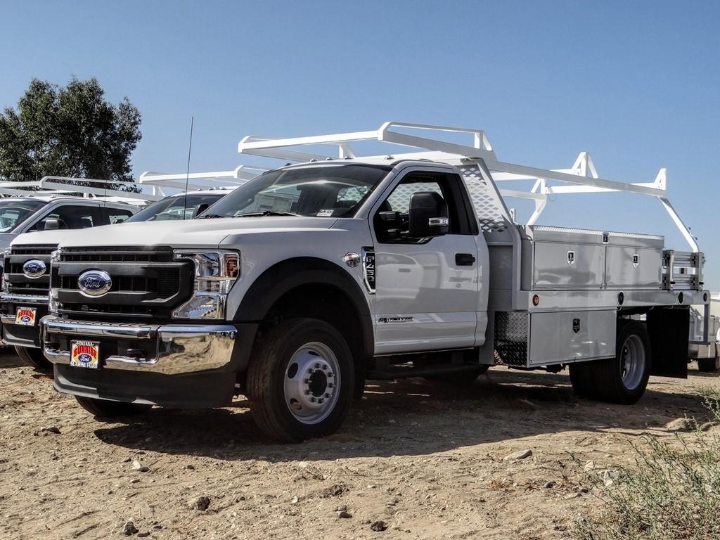 2020 Ford F-450 Regular Cab DRW 4x2, Scelzi CTFB Contractor Body #FL3643 - photo 1