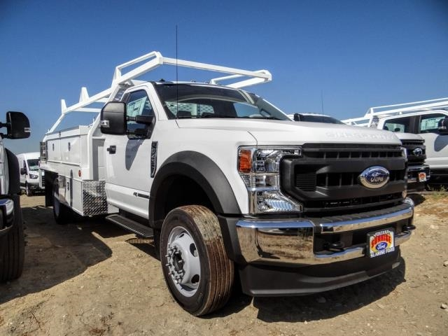 2020 Ford F-450 Regular Cab DRW 4x2, Scelzi CTFB Contractor Body #FL3643 - photo 4