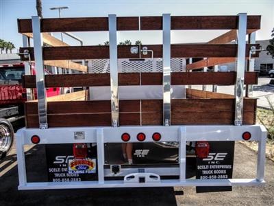 2020 Ford F-350 Crew Cab DRW 4x2, Scelzi WFB Stake Bed #FL3661 - photo 3