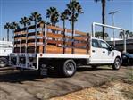 2020 Ford F-350 Crew Cab DRW 4x2, Scelzi WFB Stake Bed #FL3661 - photo 4