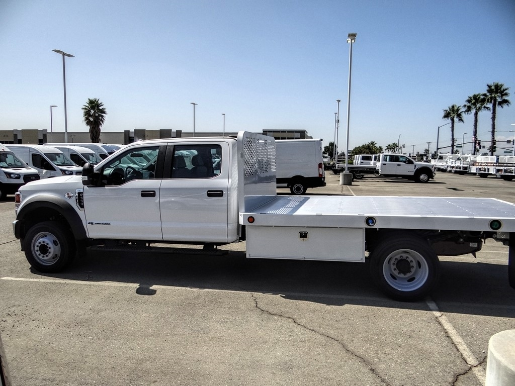 2020 Ford F-550 Crew Cab DRW 4x2, Scelzi WFB Flatbed #FL3700 - photo 3