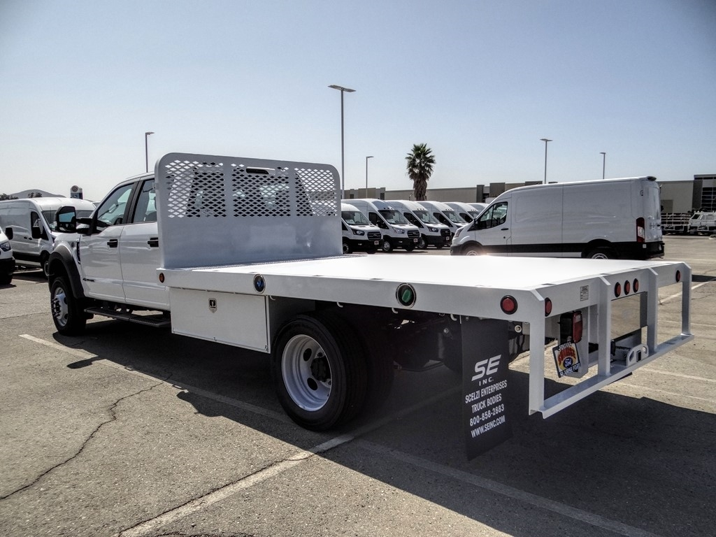 2020 Ford F-550 Crew Cab DRW 4x2, Scelzi WFB Flatbed #FL3700 - photo 2