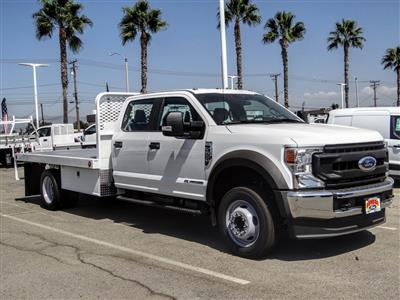 2020 Ford F-550 Crew Cab DRW 4x2, Scelzi WFB Flatbed #FL3700 - photo 7