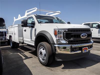 2020 Ford F-550 Regular Cab DRW 4x2, Scelzi SEC Combo Body #FL3701 - photo 8