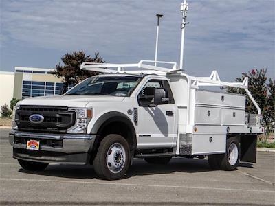 2020 Ford F-550, Scelzi Contractor Body