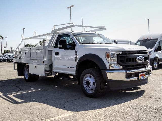 2020 Ford F-450 Regular Cab DRW 4x2, Scelzi CTFB Contractor Body #FL3803 - photo 8