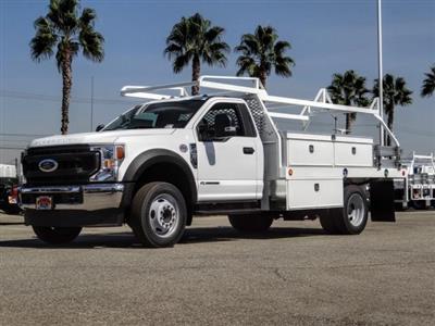2020 Ford F-450 Regular Cab DRW 4x2, Scelzi CTFB Contractor Body #FL3803 - photo 1