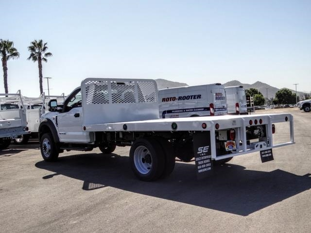 2020 Ford F-450 Regular Cab DRW 4x2, Scelzi Flatbed #FL3805 - photo 1