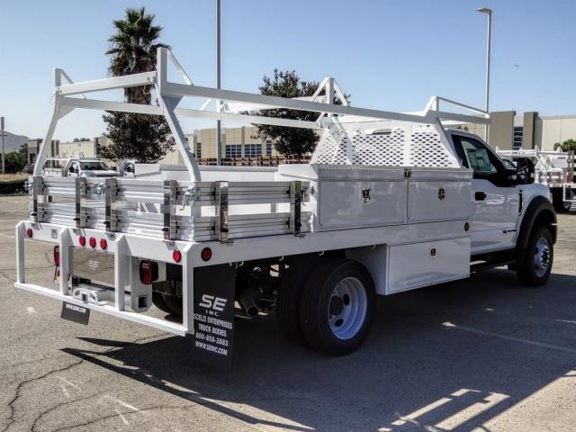 2020 Ford F-450 Regular Cab DRW 4x2, Scelzi CTFB Contractor Body #FL3806 - photo 5