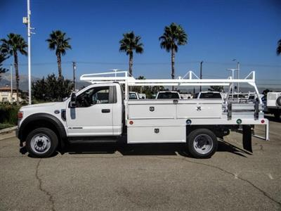 2020 Ford F-450 Regular Cab DRW 4x2, Scelzi CTFB Contractor Body #FL3806 - photo 3
