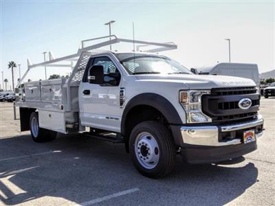 2020 Ford F-450 Regular Cab DRW 4x2, Scelzi CTFB Contractor Body #FL3806 - photo 8