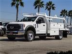 2020 Ford F-450 Regular Cab DRW 4x2, Scelzi CTFB Contractor Body #FL3806 - photo 1