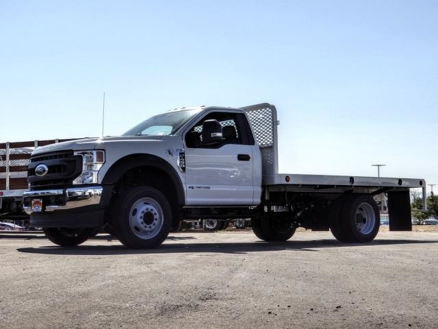 2020 Ford F-450 Regular Cab DRW 4x2, Scelzi WFB Flatbed #FL3827 - photo 1