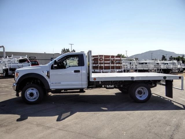 2020 Ford F-450 Regular Cab DRW 4x2, Scelzi WFB Flatbed #FL3827 - photo 3