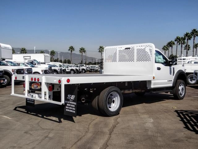 2020 Ford F-450 Regular Cab DRW 4x2, Scelzi WFB Flatbed #FL3827 - photo 5