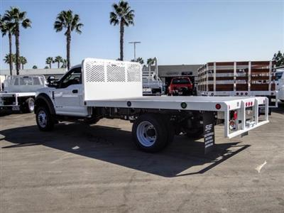 2020 Ford F-450 Regular Cab DRW 4x2, Scelzi WFB Flatbed #FL3827 - photo 2