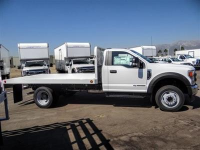 2020 Ford F-450 Regular Cab DRW 4x2, Scelzi WFB Flatbed #FL3827 - photo 6
