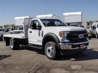 2020 Ford F-450 Regular Cab DRW 4x2, Scelzi WFB Flatbed #FL3827 - photo 7