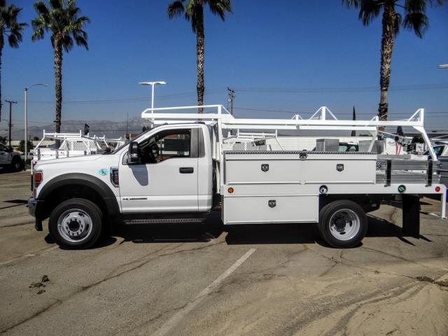 2020 Ford F-450 Regular Cab DRW 4x2, Scelzi CTFB Contractor Body #FL3848 - photo 3