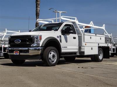 2020 Ford F-450 Regular Cab DRW 4x2, Scelzi CTFB Contractor Body #FL3848 - photo 1