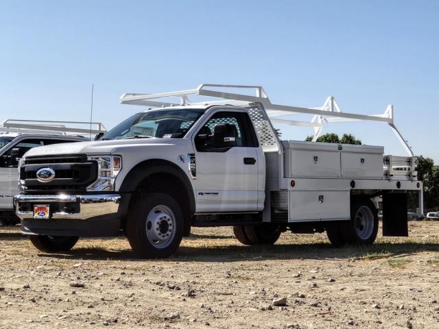 2020 Ford F-450 Regular Cab DRW 4x2, Scelzi Contractor Body #FL3849 - photo 1