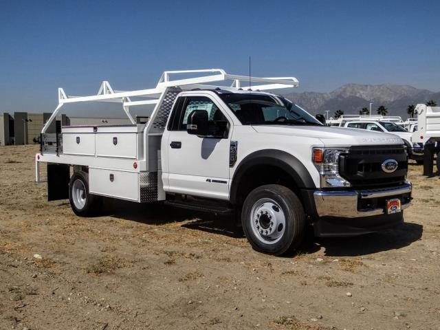 2020 Ford F-450 Regular Cab DRW 4x2, Scelzi CTFB Contractor Body #FL3849 - photo 7