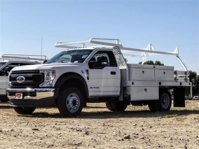2020 Ford F-450 Regular Cab DRW 4x2, Scelzi CTFB Contractor Body #FL3849 - photo 1