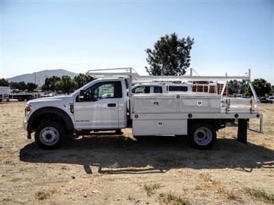 2020 Ford F-450 Regular Cab DRW 4x2, Scelzi CTFB Contractor Body #FL3849 - photo 3