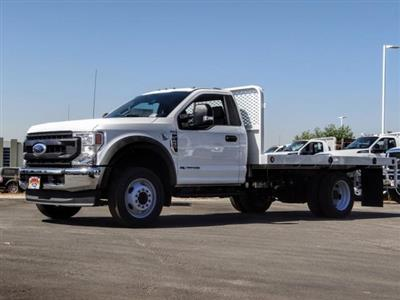 2020 Ford F-450 Regular Cab DRW 4x2, Scelzi WFB Flatbed #FL3851 - photo 1