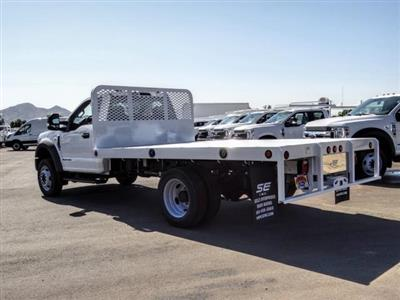 2020 Ford F-450 Regular Cab DRW 4x2, Scelzi WFB Flatbed #FL3851 - photo 2
