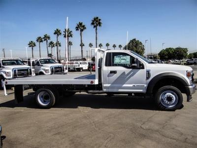 2020 Ford F-450 Regular Cab DRW 4x2, Scelzi WFB Flatbed #FL3851 - photo 6