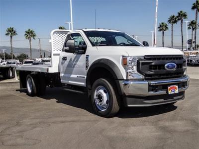 2020 Ford F-450 Regular Cab DRW 4x2, Scelzi WFB Flatbed #FL3851 - photo 7