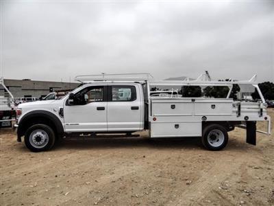 2020 Ford F-450 Crew Cab DRW 4x2, Scelzi CTFB Contractor Body #FL3877 - photo 4